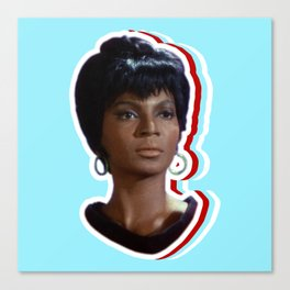 Nyota Uhura: Queen of Space Canvas Print