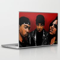 monster inc Laptop & iPad Skins featuring Murder Inc. by Spiro 1230