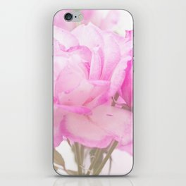 Light Pink Blend Rose #1 #floral #decor #art #society6 iPhone Skin