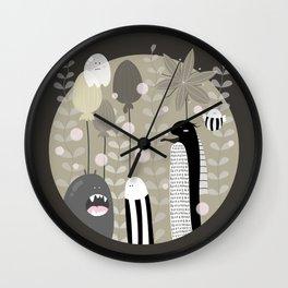 Japanese Fairy Tale \\ Piece 3 Wall Clock
