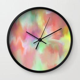Watercolor Wonder Wall Clock
