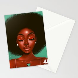 HAIR GOALS Stationery Cards