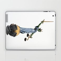 don't make her angry... Laptop & iPad Skin