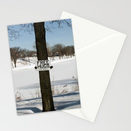 Free Hugs Tree Stationery Cards