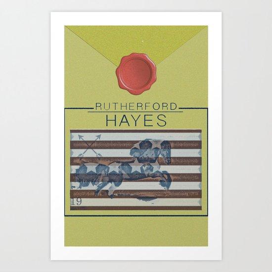 Hayes Art Print