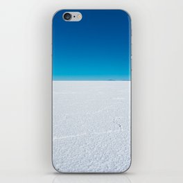 Salt Flats, Salar de Uyuni, Bolivia iPhone Skin
