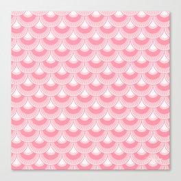 Koi Nobori Sakura Canvas Print