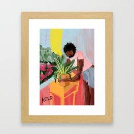 let's make this house a home Framed Art Print