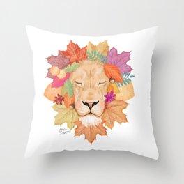Autumn Leon Throw Pillow