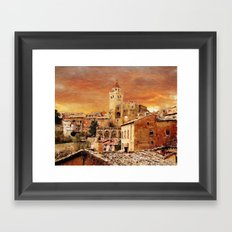 High five! You're one step closer to selling your work. Framed Art Print