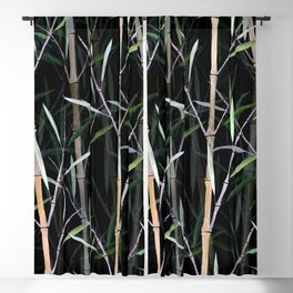 Bamboo Forest Blackout Curtain