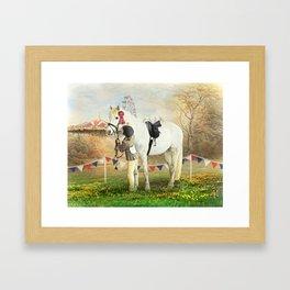 First Prize Framed Art Print