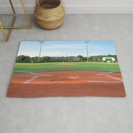 Play Ball! - Home Plate - For Bar or Bedroom Rug
