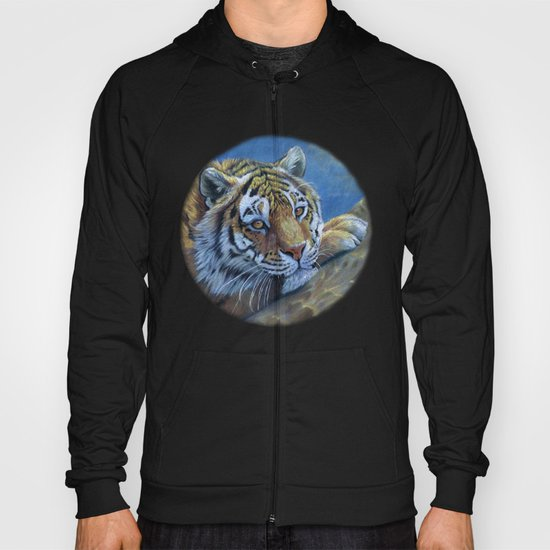 Tiger on the rock CC117 Hoody