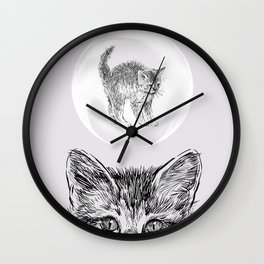 What's on Your Mind Wall Clock