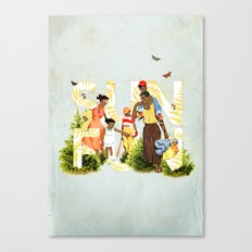 Sun Fun II Canvas Print