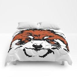 Red Panda Parry Comforters