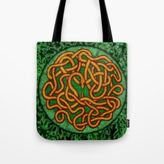 quozarrah jungle serpent mandala Tote Bag