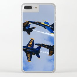 US Navy Blue Angels Clear iPhone Case
