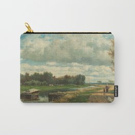 Landscape in the Environs of The Hague - Willem Roelofs (I) (1870-1875) Carry-All Pouch