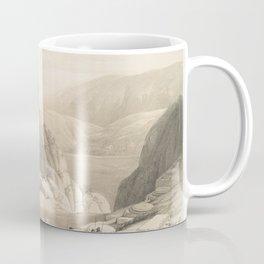 Vintage Illustration of Petra (1849) 2 Coffee Mug