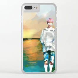 Spring Day Clear iPhone Case
