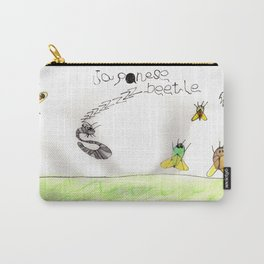 Japanese Beetle Life Cycle Carry-All Pouch