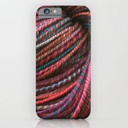 Stickley Verdigris - Handspun and Hand Dyed Yarn iPhone Case