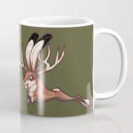 Jackalope and Thunderbird Coffee Mug