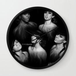 Fifth Harmony 'Reflection' Digital Painting Wall Clock