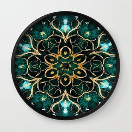 Green Goddess Wall Clock