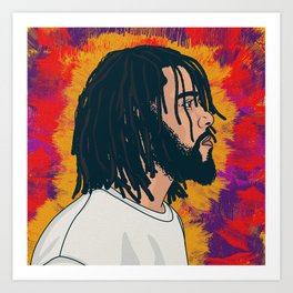 Cole World Art Print