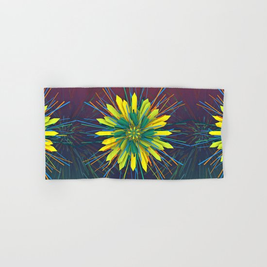 SunZun Flower Hand & Bath Towel
