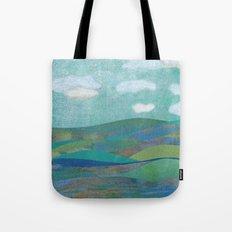 COLLAGE LOVE: Seascape Tote Bag
