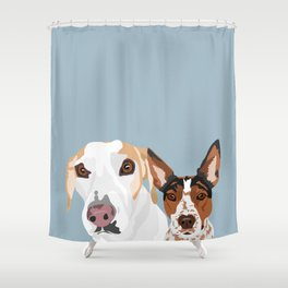 Tahoe and Fiona Shower Curtain