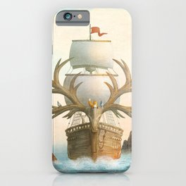 The Antlered Ship - Jacket iPhone Case