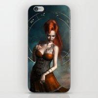 zodiac iPhone & iPod Skins featuring Zodiac Scorpio by Britta Glodde