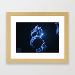 Digital Anemone Framed Art Print