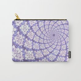 Mandala Spiral Carry-All Pouch