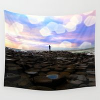 giants Wall Tapestries featuring Causeway Dreamer by Peaky40