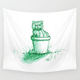 Catctus Wall Tapestry