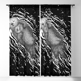 Sweet Dreams, Little Otter Blackout Curtain