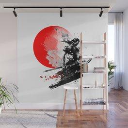 Japanese Warrior Wall Mural