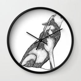 The wolf of Many Wall Clock