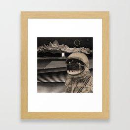 Hallow Man Framed Art Print