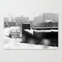 Snowy Escape Canvas Print
