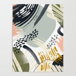 Abstract autumn season Poster