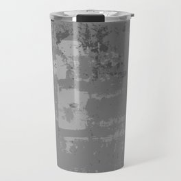 Industrial Grey Grunge Abstract Texture Concrete Pattern Travel Mug