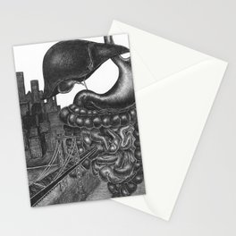 Fear plays an interesting role in our lives Stationery Cards