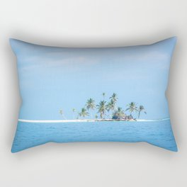 The San Blas Islands in Panama Rectangular Pillow
